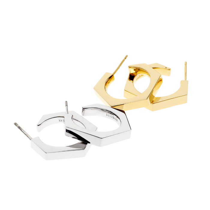 hex nuts earrings