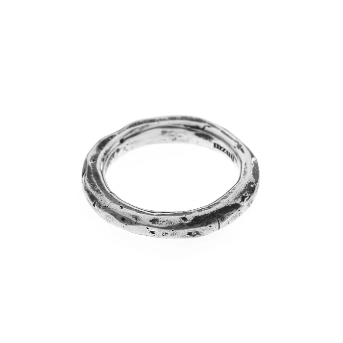 24/7 Silver Rough Ring