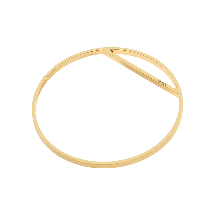 24/7 Double Texture Line Bangle<br><b>당일출고</b>