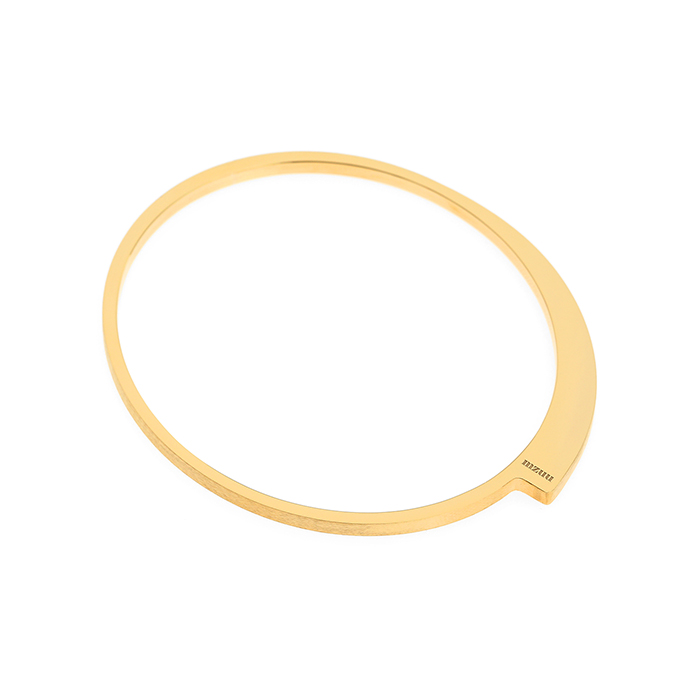 24/7 Double Texture Ellipse Bangle<br><b>당일출고</b>