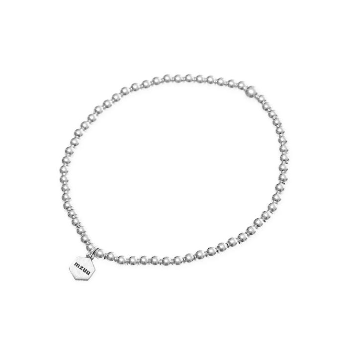 Silver Ball Chain Bracelet