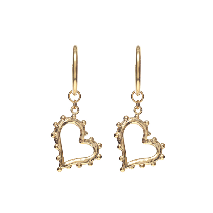 <b>김도연 착용</b><br>Lover Heart Earrings