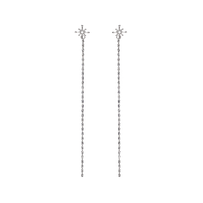 Joli Starry Chain Drop Earrings