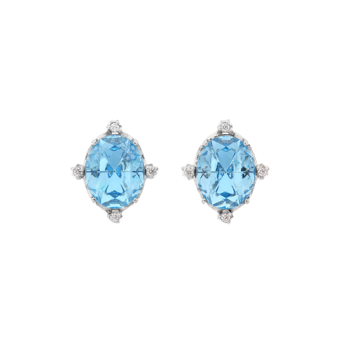 Fantasia Small Crystal Earrings