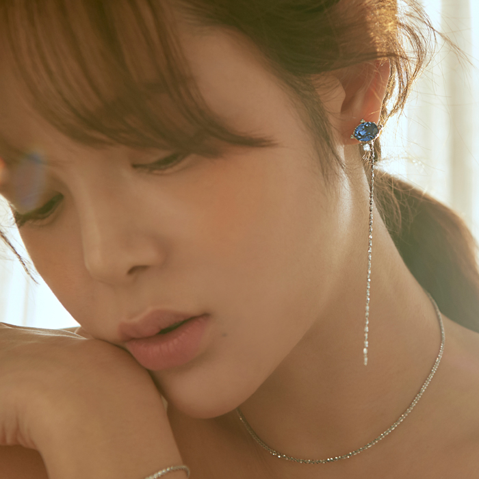 <b>진세연 착용</b><br>Fantasia Crystal Drop Single Earring