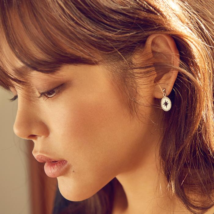 Midnight Sun Etoile Earrings